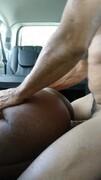 Ebony 18yo Shaved pussy fucking Thumb
