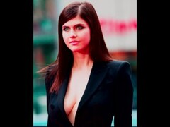 Alexandra Daddario Jerk Off Challenge VERY HARD! Thumb