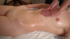 Kalinina hot Russian babe soft-core massaged Thumb